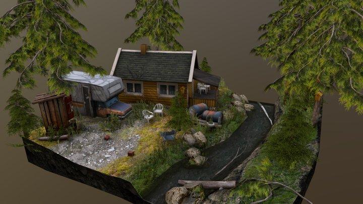 Norwegian Diorama 3D Model