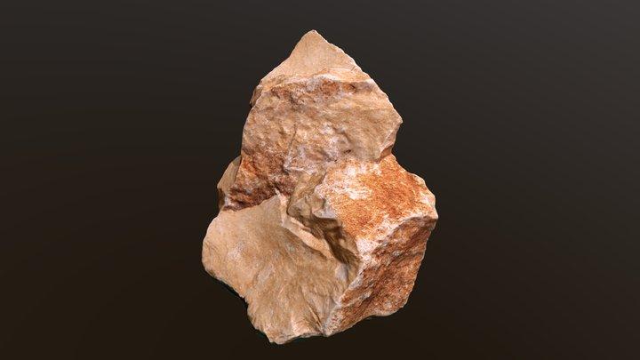 A Common Rock #1 3D Model