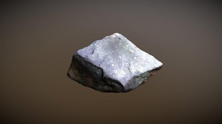 Grey Granite Stone 004, Scanned in Finland 3D Model