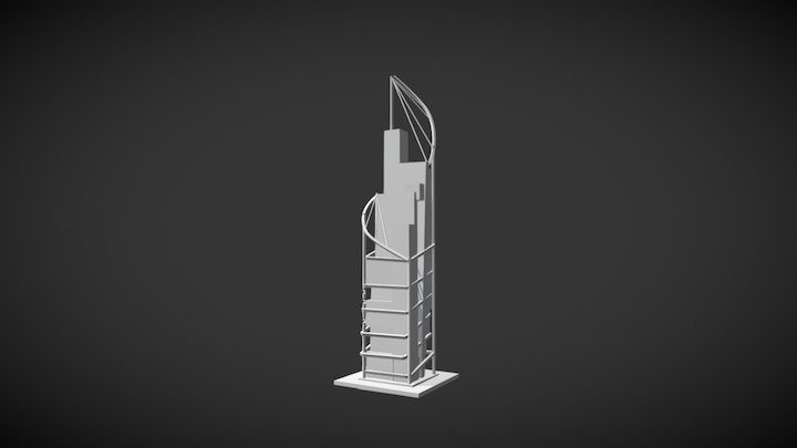 Skyscrapper 3D Model