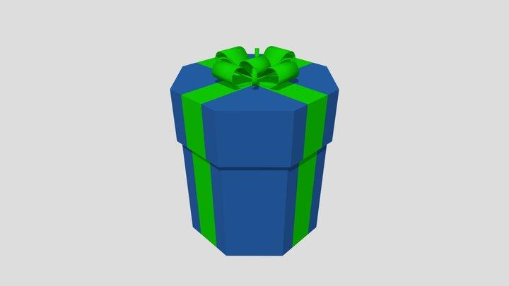 Octagon Gift Box 3D Model