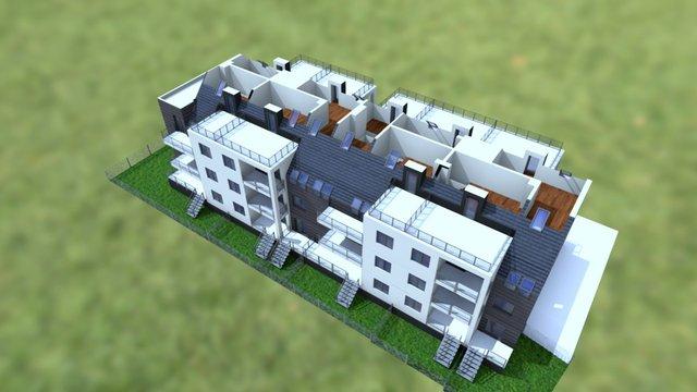 Brzozowe Zacisze 2 3D Model