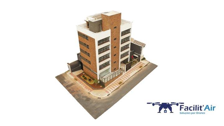 Baixa de Construção com Drones - Belo Horizonte 3D Model