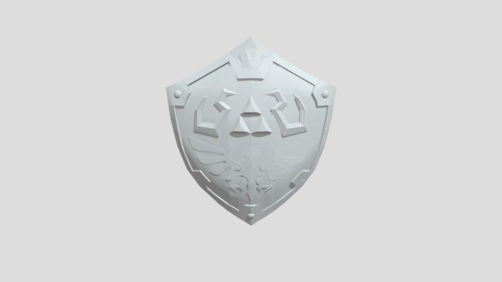 Hylian Shield 3D Model
