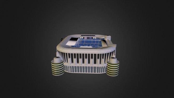 Estadio Santiago Bernabeu1 3D Model