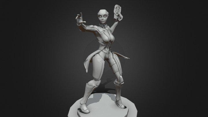 liara_statue1 3D Model