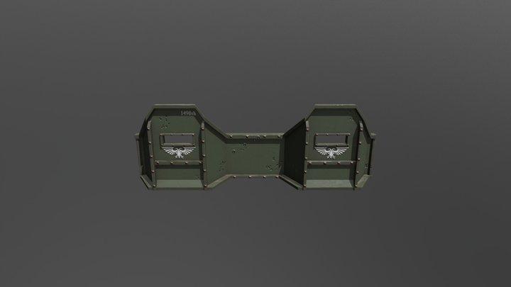 40k Aegis Double Section 1490th 3D Model