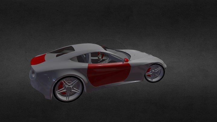 Berlinetta Export 3D Model