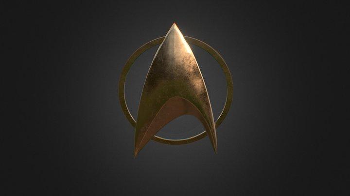 Star Trek for 3D print SmoothB 3D Model