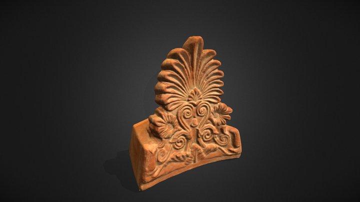 Antefija corintia 3D Model