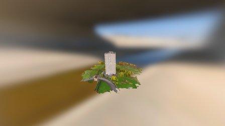 Tower Block 3D Model