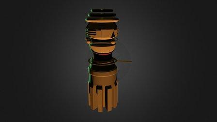 Power Output 3D Model