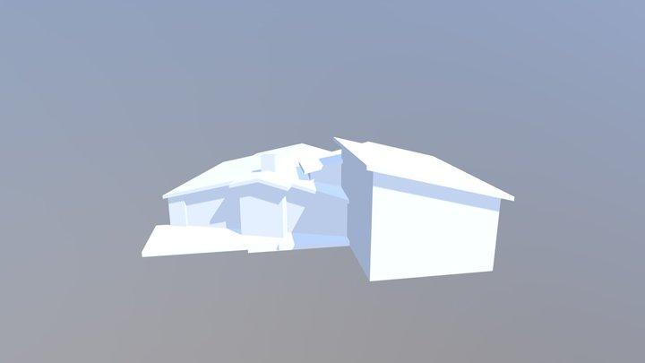 Franger Residence rough form 3D Model