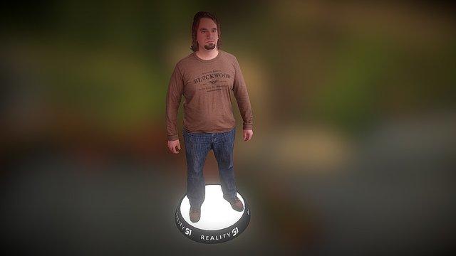 Human Scan 1412 3D Model