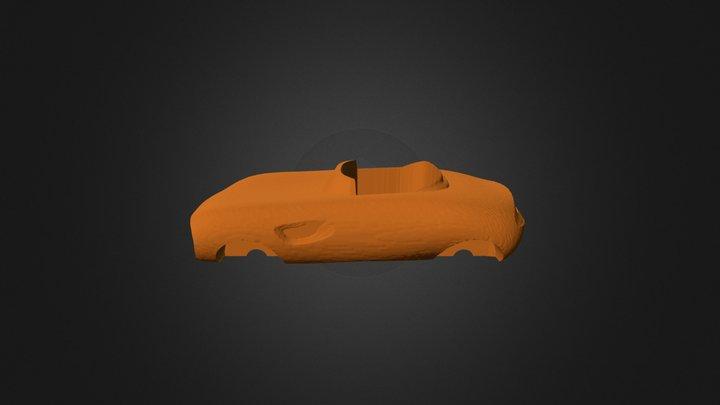 DF Buddyracer Cafe Rod 3D Model