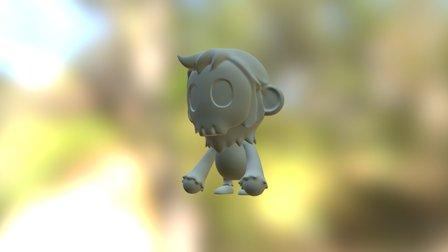 Skullmonkeysample 3D Model