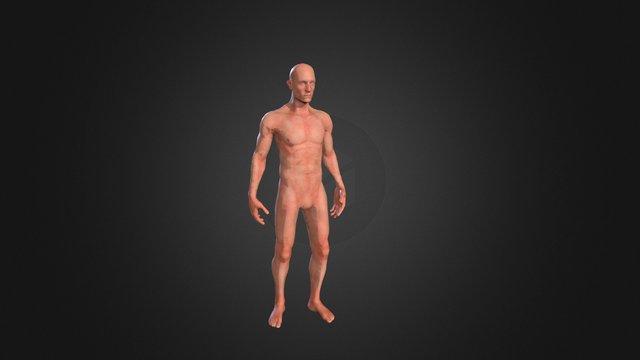 Test quicky rig change sex 3D Model