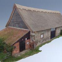 Leiston Abbey Barn 3D Model