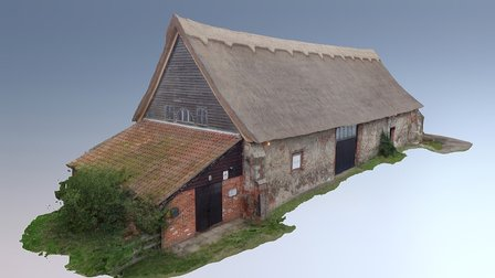 Leiston Abbey Barn 3D Model