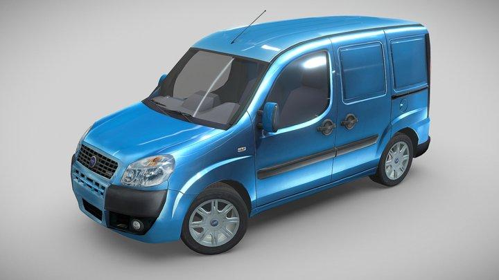 Fiat Doblo, 2006 3D Model