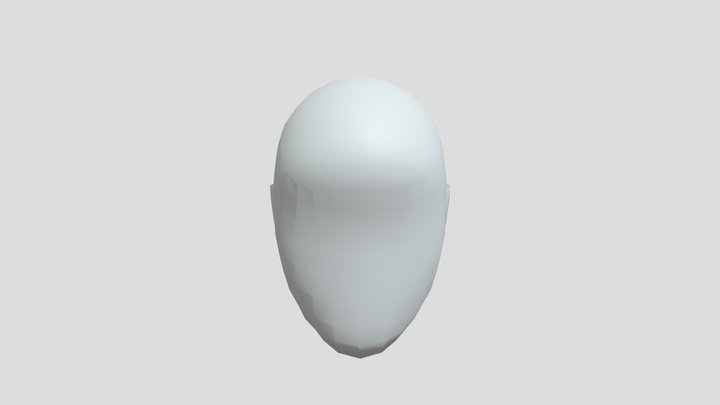 Head Occluder 3D Model