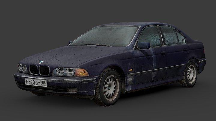 BMW 520i  RAW Scan 3D Model