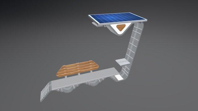 Solar Bench v1.0 3D Model
