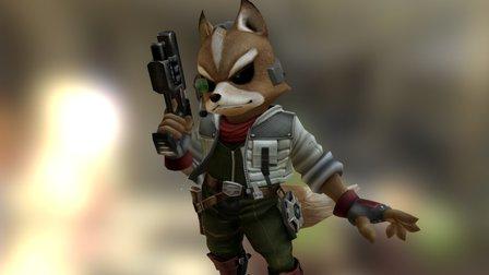 Fox (StarFox) 3D Model