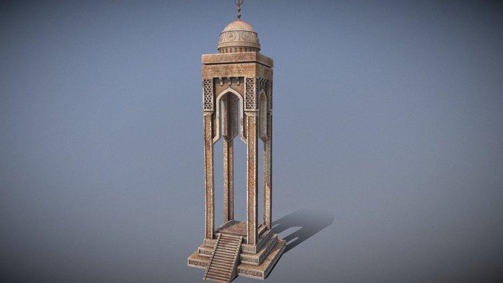 Fantasy Sacrificial Temple 3D Model