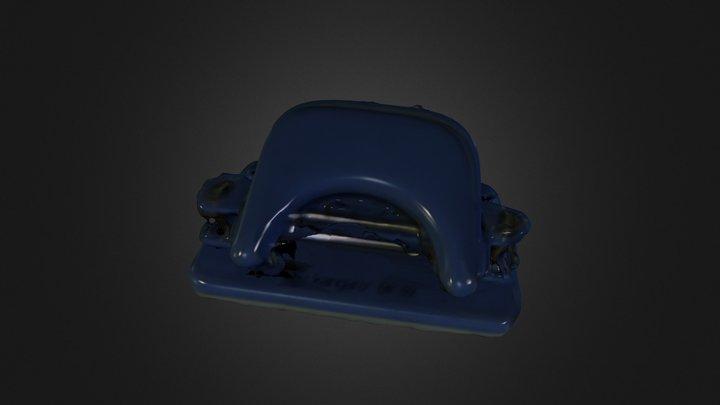 Paper Punching Machine 3D Model