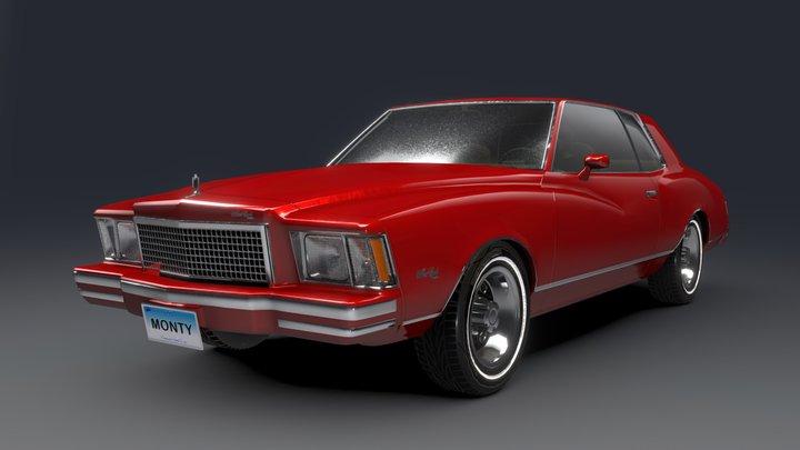 1978 Chevrolet Monte Carlo 3D Model