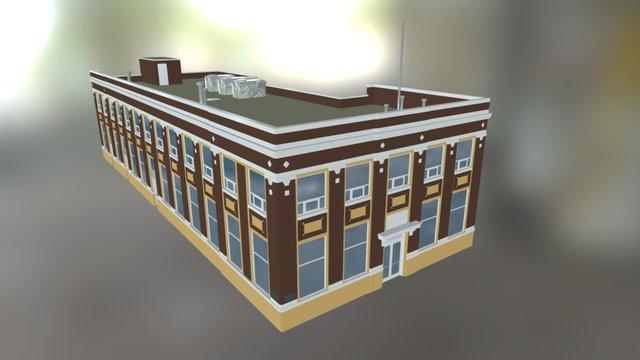 Crossroads Community/Town Hall (WIP) 3D Model