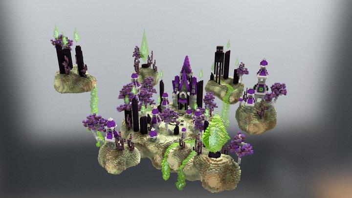 EnderMania Hub 3D Model