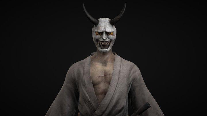 Shiroi Ronin 3D Model