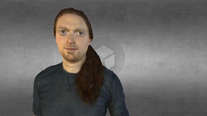 Me (scan/retopped) 3D Model