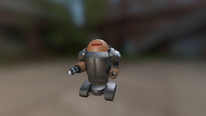 Mech soldier 1 3D Model