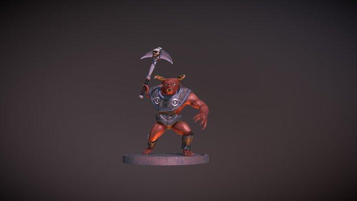 Devil Stage 3D Model
