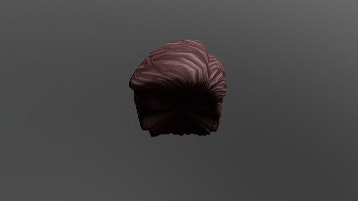 3d Boy Sculpt Hair 3D Model