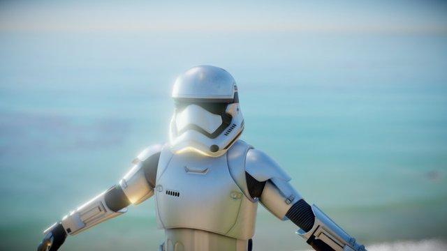 Star Wars 7 Storm Trooper 3D Model
