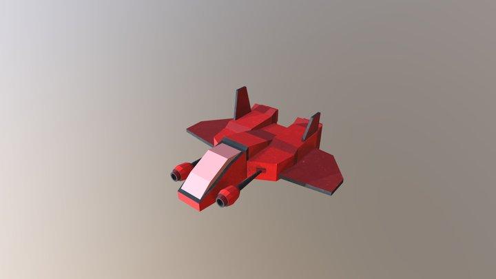 Nave Inimiga 3D Model