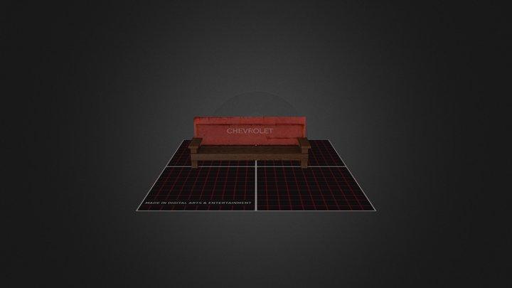 chevrolet bench 3D Model