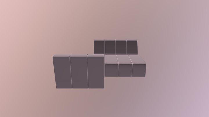 Divano Sketch 3D Model