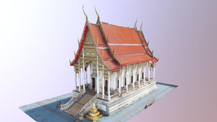 Bangkaenoi Temple Exterior 3D Model