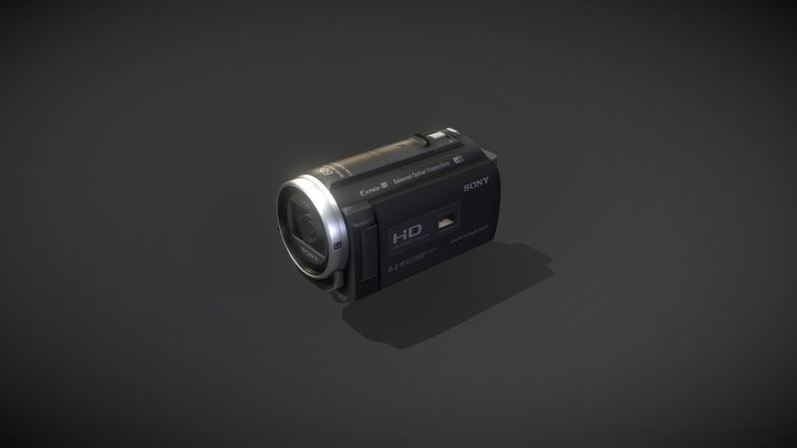 Sony HDR-PJ530E 3D Model