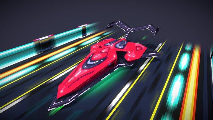 Racing Ship: Vexelcio 3D Model