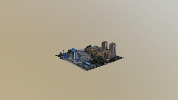 Skudai Oblique 3D Model