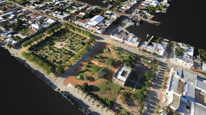 UAV Mapping - General Arenales PARCIAL 3D Model