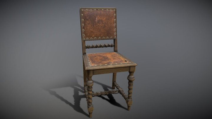 Old Chair [3D Scan] 3D Model