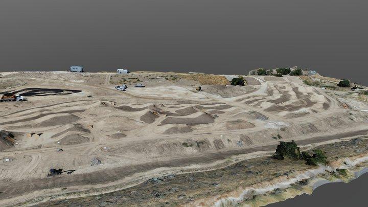 Fort Boise bike skills course, August 2019 3D Model