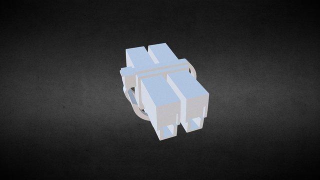 Wire Fastener 3D Model